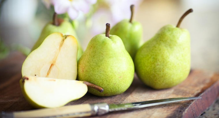 How Do You Speed up the Process of Ripening Pears?