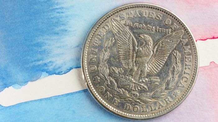 Where Is the Mint Mark on a Morgan Silver Dollar?