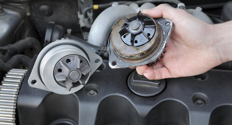 What Are Some Locations of the Water Pump on Cars?