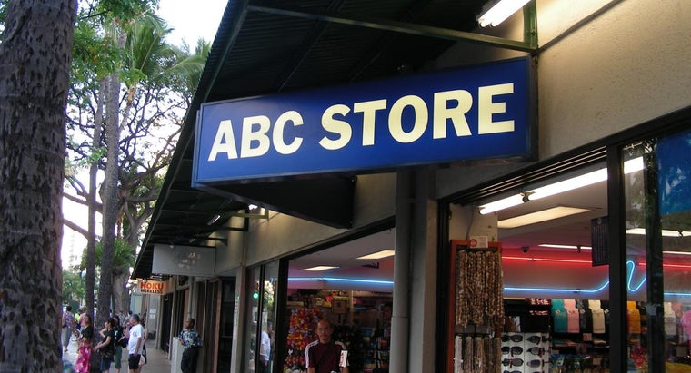 What Are Some Souvenirs at ABC Stores in Hawaii?