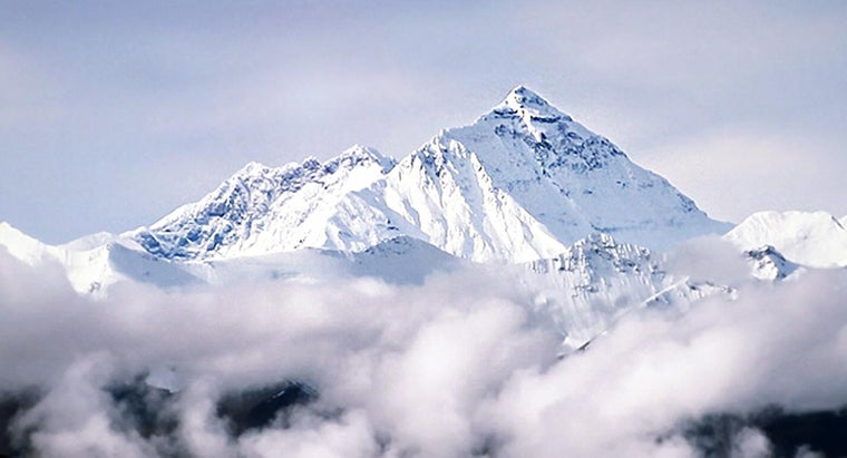 Where Is Mt. Everest Located?