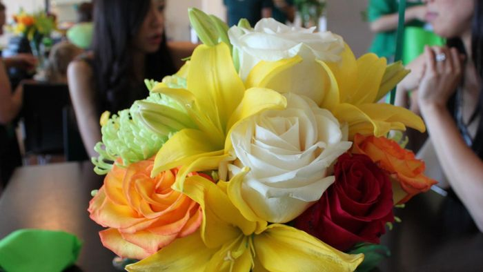 What Are Some Bridal Shower Centerpiece Ideas?