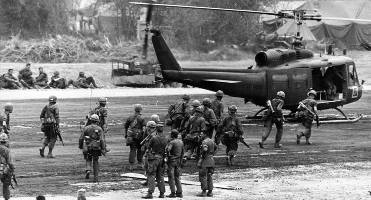 How Do You Find a Map of Locations From the Vietnam War?