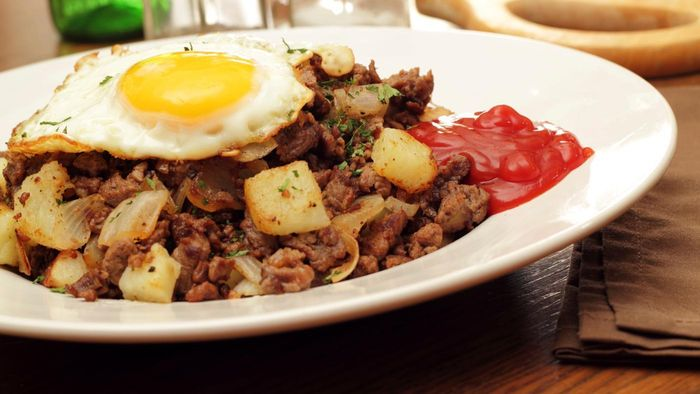 What is the best roast beef hash recipe for breakfast?