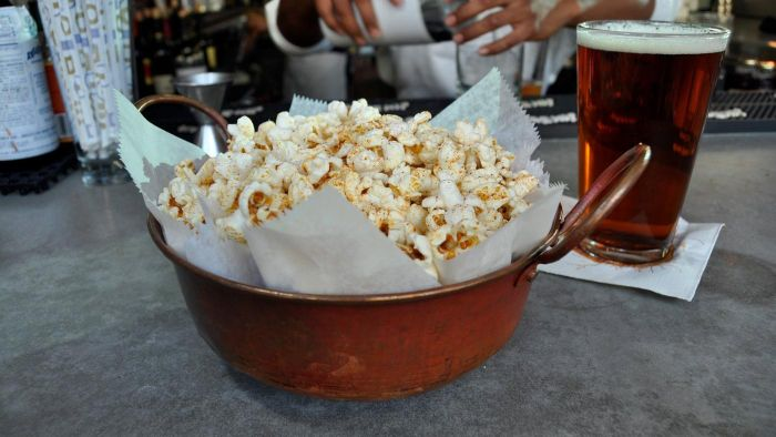 What Is a Good Cheddar Cheese Popcorn Recipe?