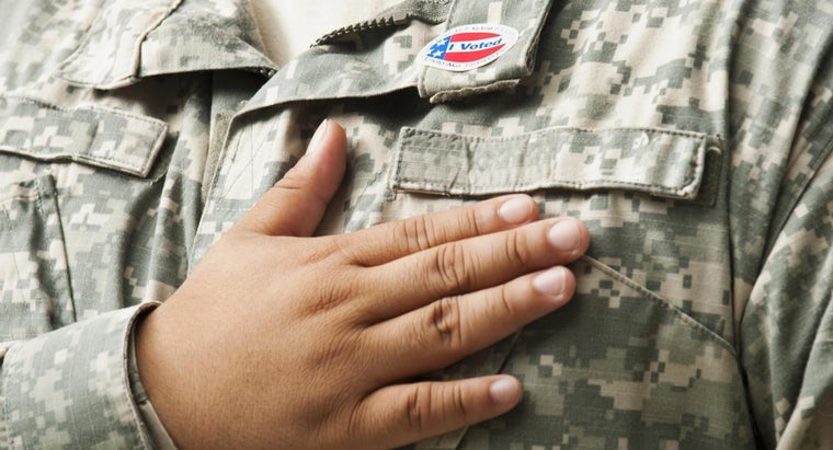What Are the Different U.S. Army Ranks in Order From the Highest to the Lowest?