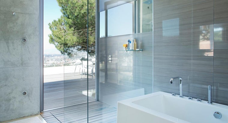 What Are Some Tips for Cleaning Glass Shower Doors?