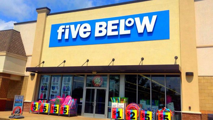 What Types of Products Does Five Below Sell?