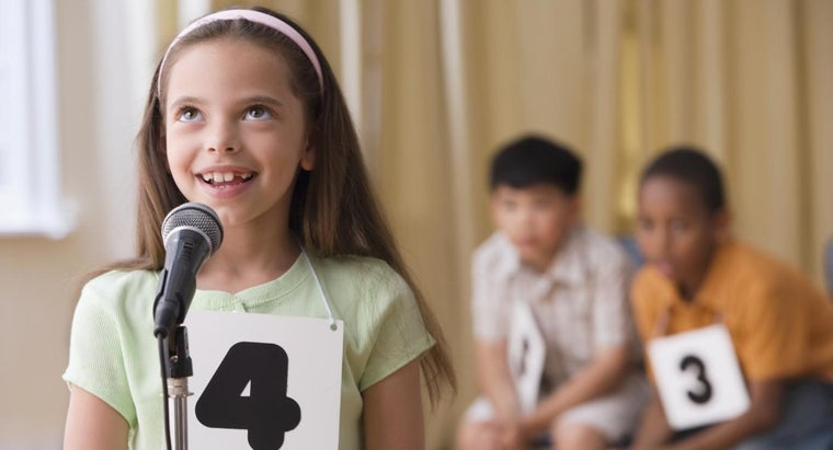 What Are Some Fun Spelling Bee Games?