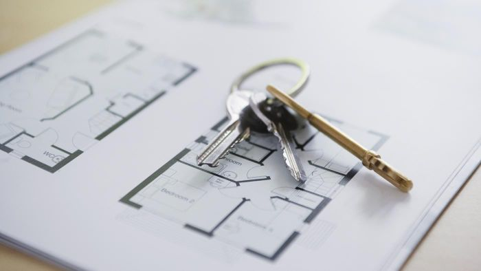 Where can you find with open floor plans for houses?