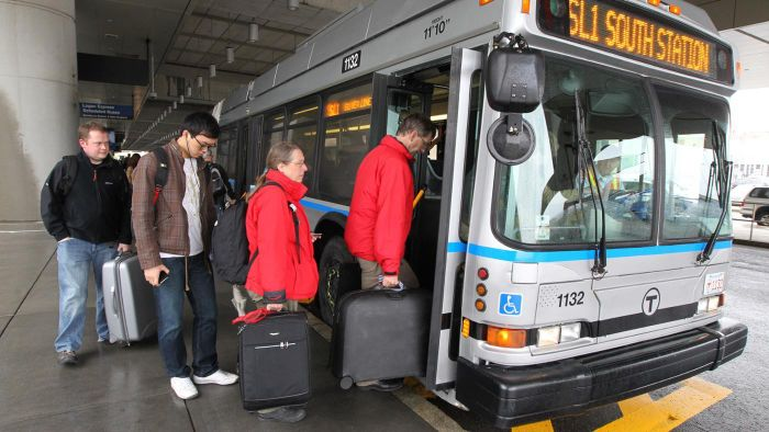 What Are the Options for Accessing the Logan Airport Shuttle in Boston?