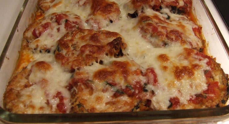 What Is an Easy Eggplant Parmesan Recipe for a Family of Four?