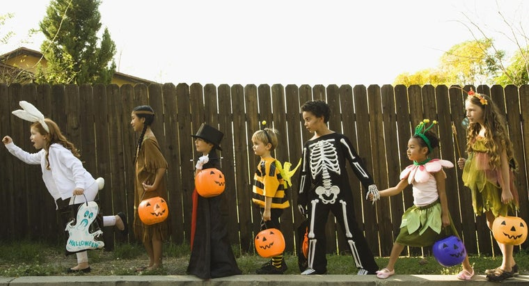 What Day Is Famous for Trick-Or-Treating?