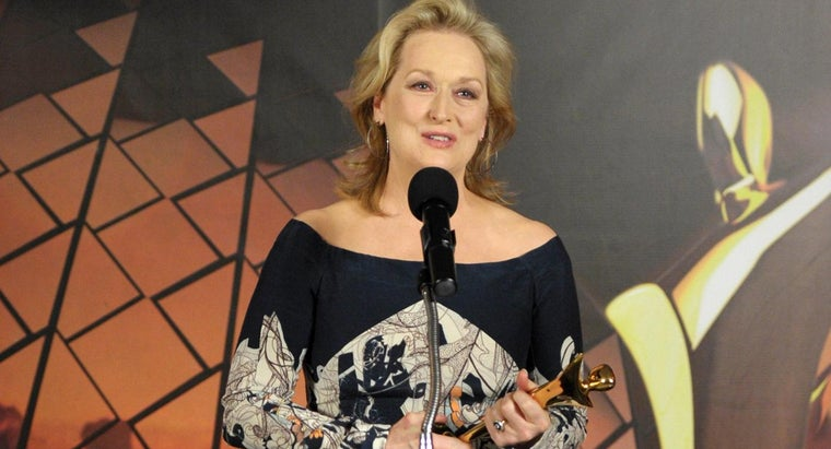 How Many Awards Did Meryl Streep Win During Her Career?