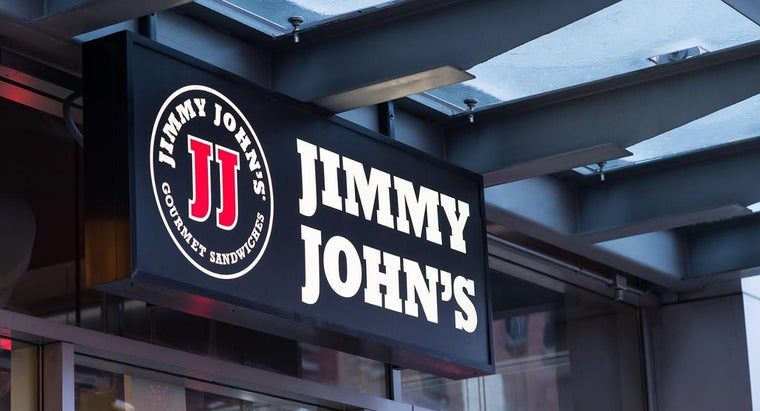 Where Can You Find the Calorie Information for Jimmy John's?