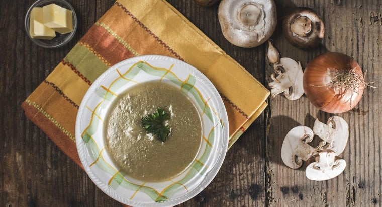 What Are Some Good Mushroom Soup Recipes?
