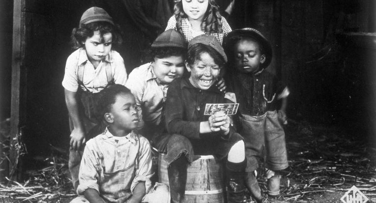 """Who Are Some of the """"Little Rascals"""" Characters?"""