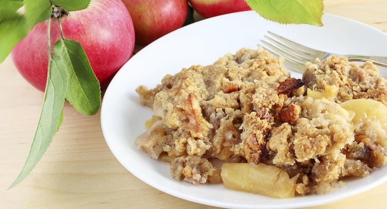How Can I Make Apple Crisp With Quaker Oats Oatmeal?