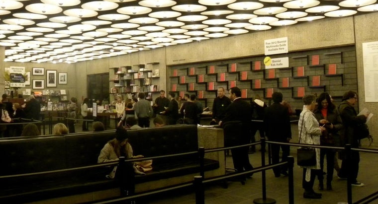 What Are Some Admission Policies for the Whitney Museum in New York?