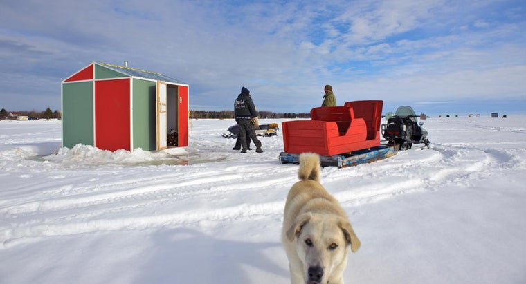 Where Can You Find DIY Plans for Ice Fishing Shack Construction?