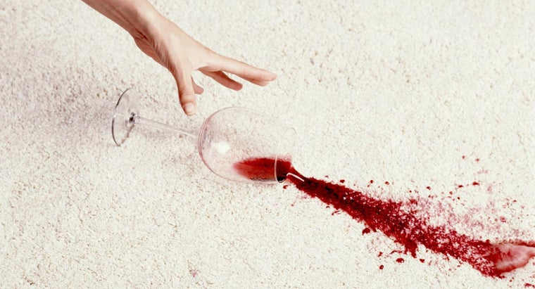 How Do You Get Red Wine Stains Out of a Carpet?
