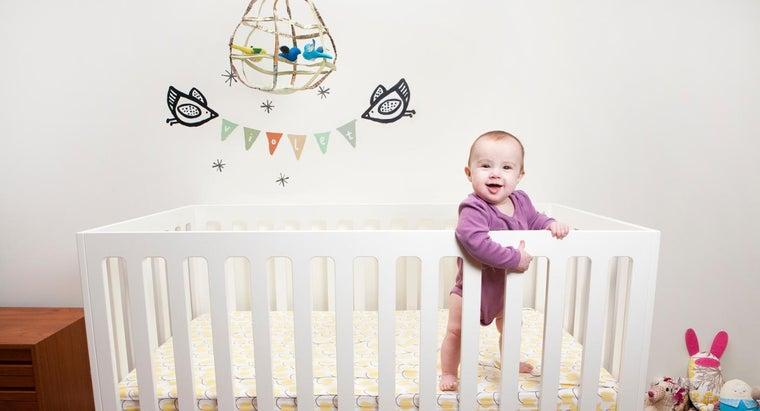 What Are the Average Measurements for a Baby Crib?