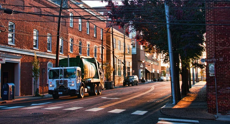 How Can You Find Out When Your Neighborhood's Trash Pickup Is?