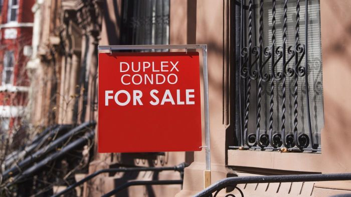 How do you find duplexes for sale?
