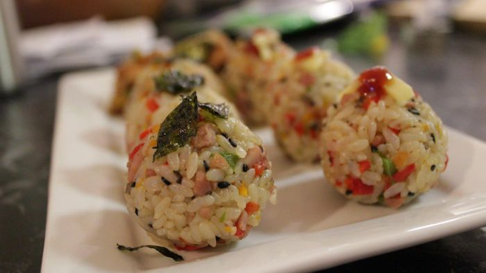What is an easy rice ball recipe?