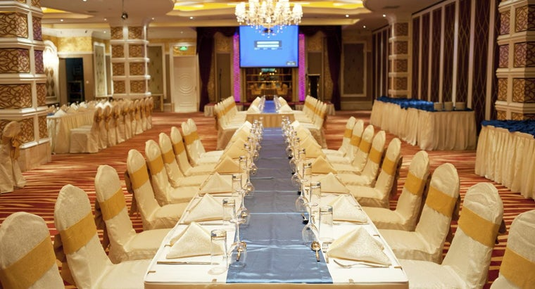 What Are the Most Economical Banquet Halls to Rent?