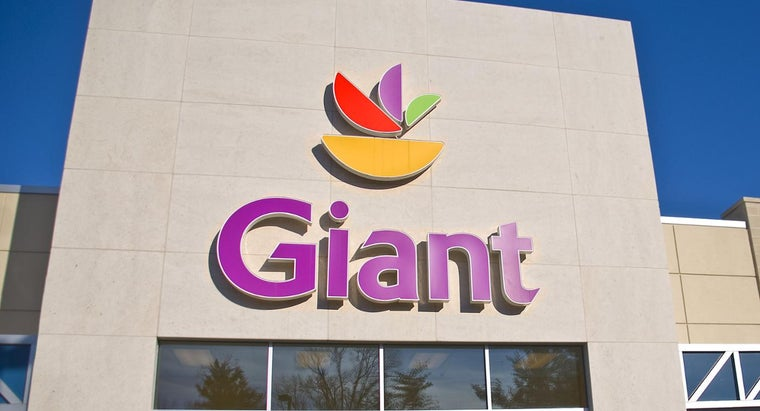 In What States Are Giant Food Stores Located?