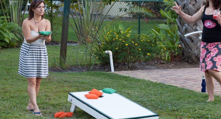 What Materials Are Needed to Build a Full Corn Hole Game?