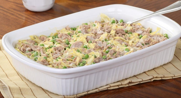 How Do You Make Tuna Casserole With Campbell's Soup?