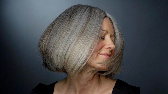 What are some easy care haircuts for women over 50?