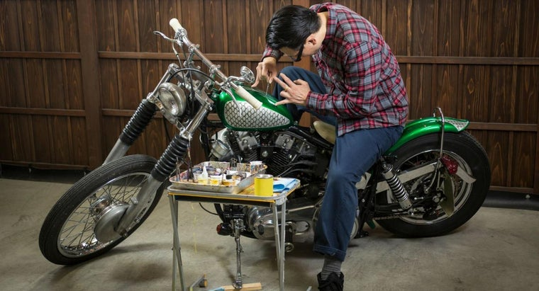 How Much Do Custom Motorcycle Paint Jobs Usually Cost?