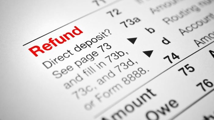Where Can You Find Tax Refund Information?