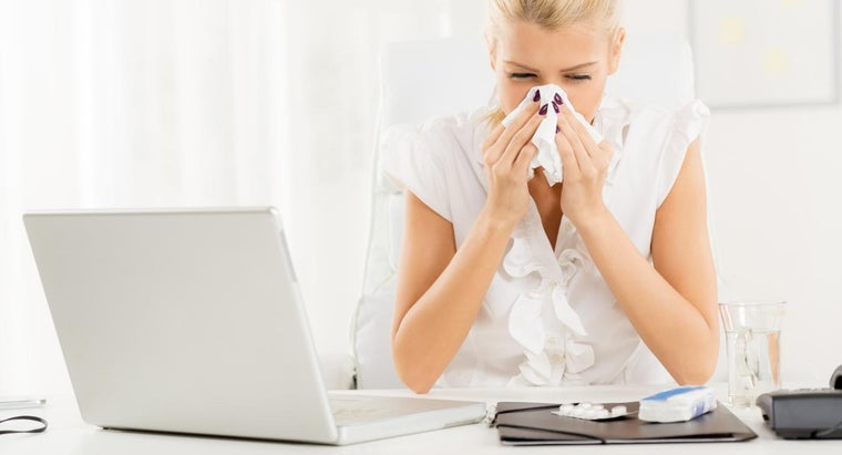 How Is a Cold Versus Flu Symptom Chart Made?
