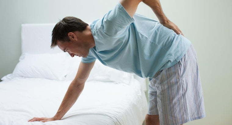What Are Some Home Cures for Back Pain?