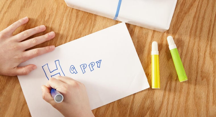 What Are Some Tips for Creating Your Own Happy Birthday Cards?