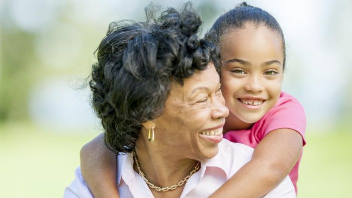 What are the relationship benefits between grandmothers and granddaughters?