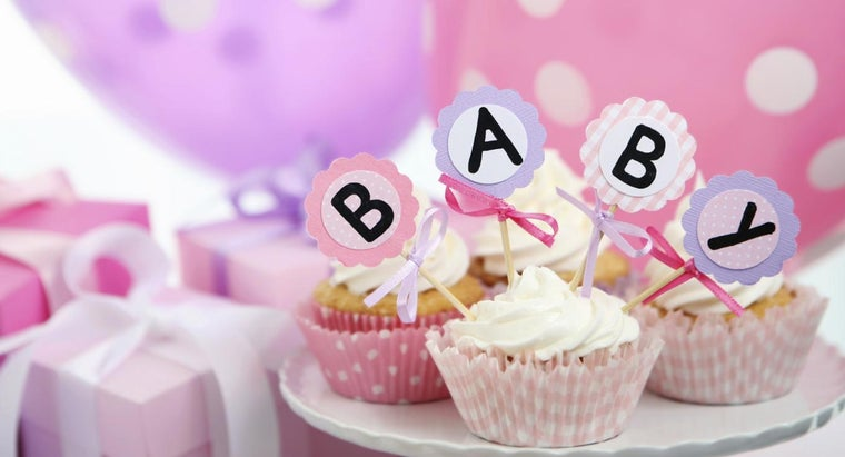 What Are Some Cupcake Ideas for a Baby Shower?