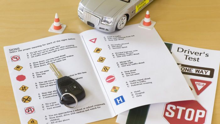 Where Can You Find Some Driver's License Sample Test Questions?