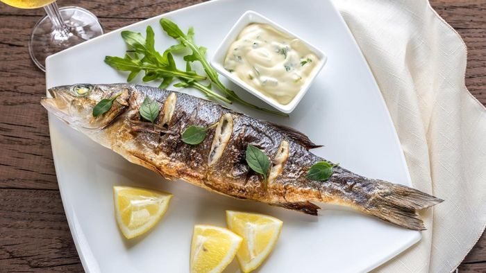 What Is a Recipe for Baked Sea Bass?