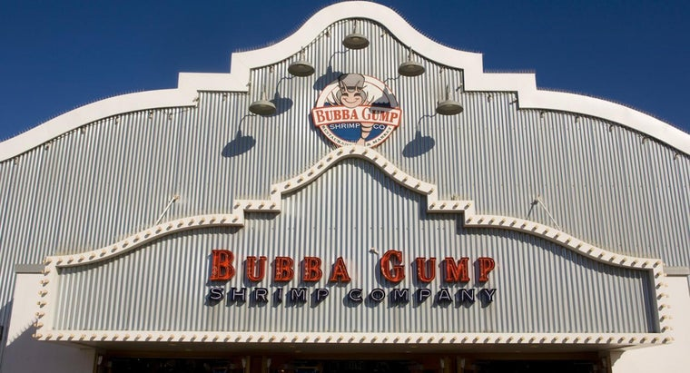 Where Can You Find the Bubba Gump Shrimp Co. Restaurant and Market Menu?