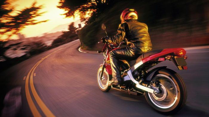 What is an online motorcycle photo gallery?