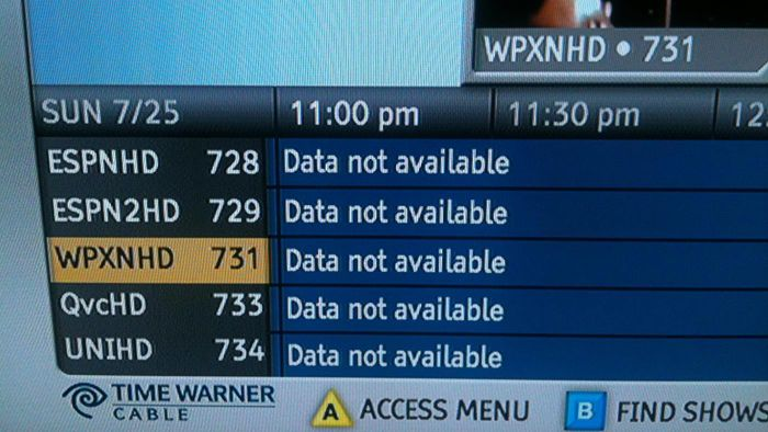 What Are the Time Warner Cable TV Codes?
