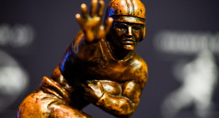 Who Are Some of the Most Famous Heisman Trophy Winners?