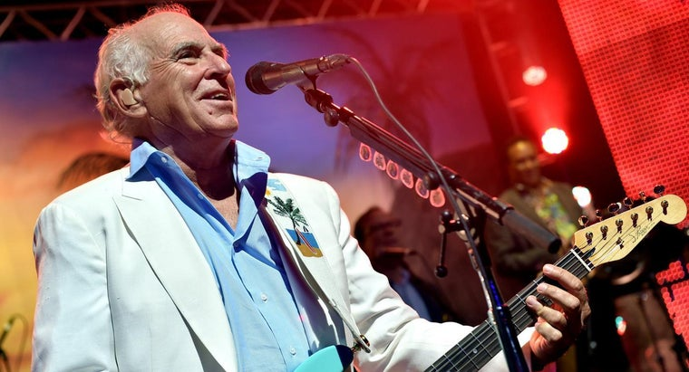Does Jimmy Buffet Write His Own Songs?