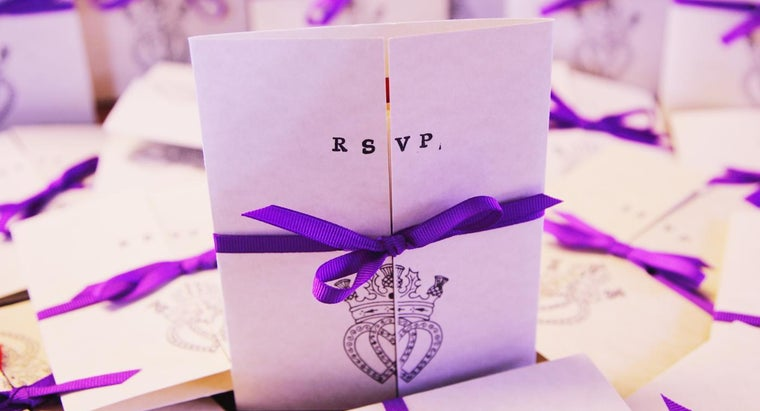 What Is the Proper Wording for Wedding RSVP Cards?