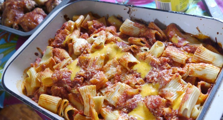 What Is the Recipe for Baked Ziti With Meat?